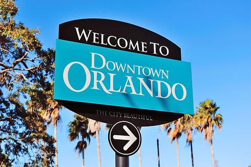 Orlando Welcome Sign