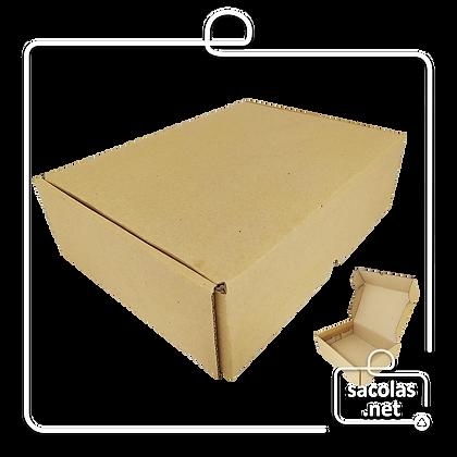 Caixa E-commerce 32x22,5x9 cm (LxPxA) - pacote com 20 unidades