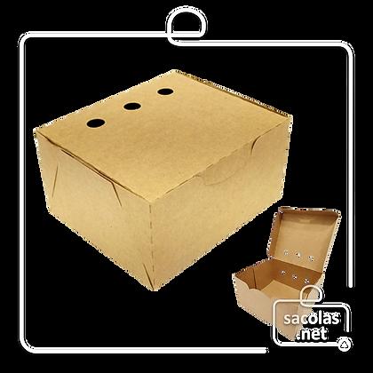 Caixa para Porções 6 x 11,6 x 10 cm (AxLxP) - pacote com 100 unidades