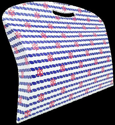 Caixa Maleta Navy 25,5 x 32 x 7 cm (AxLxP) - pacote com 5 unidades