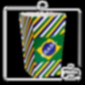 Cx Pipoca Brasil 15x8,5x8,5cm 6500-00488