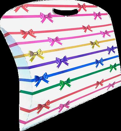 Caixa Maleta Laço 25,5 x 32 x 7 cm (AxLxP) - pacote com 5 unidades