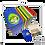 Thumbnail: Caixa cartucho Páscoa 11 x 16 x 11 cm (AxLxP) - pacote com 5 unidades