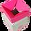 Thumbnail: Caixa Box Teen 14,5 x 13 x 13 cm (AxLxP) - pacote com 5 unidades