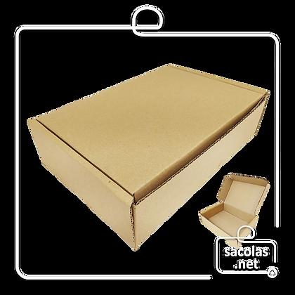 Caixa E-commerce 26,5x18x7 cm (LxPxA) - pacote com 20 unidades