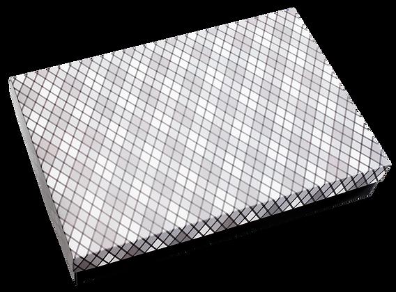 Caixa Presente Losango G Tampa e Fundo 36x28x6 cm - pacote com 3 unidades
