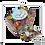 Thumbnail: Caixa Lock UP Páscoa 11 x 16 x 11 cm (AxLxP) - pacote com 5 unidades