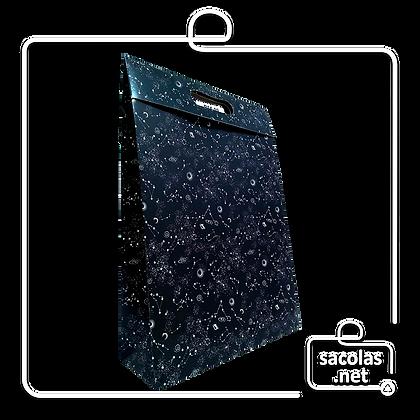 Sacola-Caixa Presente Galaxia 37 x 26 x 9 cm (AxLxP) - pacote com 3 unidades