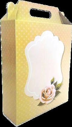 Caixa LA Flor 23 x 18 x 6 cm (AxLxP) - pacote com 5 unidades