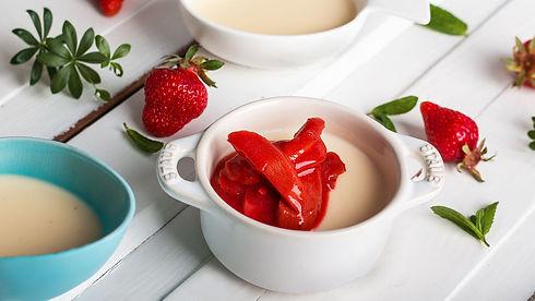 panna cotta, dessert, italienisch, gericht, rezept des monats, kochen, app, kulinarik, kochbuch, kochanleitung