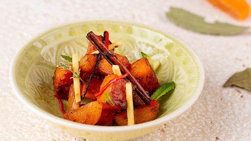 kürbis, gemüse, gericht, rezept des monats, kochen, app, kulinarik, kochbuch, kochanleitung
