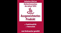 kücheninnovation award ausgezeichnetes produkt