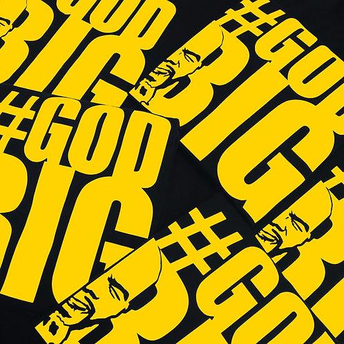 Black/Yellow #GODBIG T-shirt