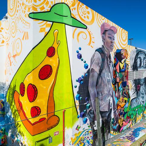 Pizza Abduction Corner at Los Suenos