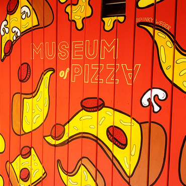 Museum of Pizza Mural