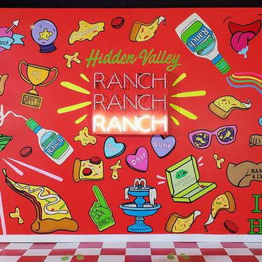 Ranch Mural