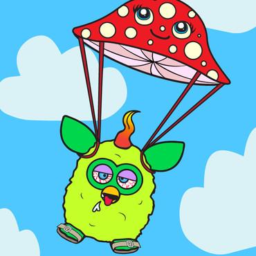 Flying High Furby