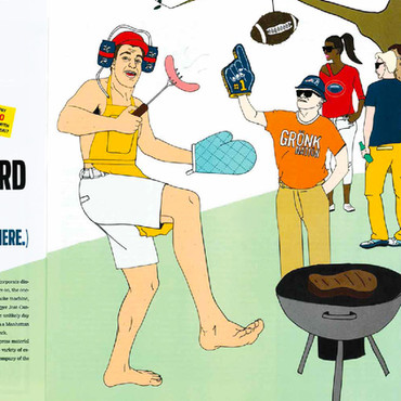 The Boston Globe: Why we want Gronk at our backyard barbecue