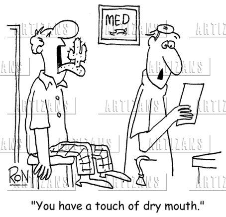 Does Your Mouth Feel Like The Sahara Desert