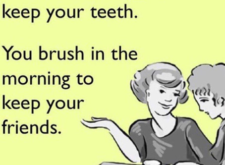 Keep your brushing routine during COVID-19