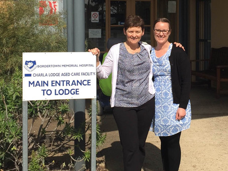 Visiting the Bordertown Aged Care Residents