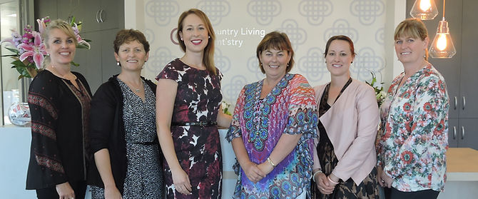 The team at Country Living Dentistry