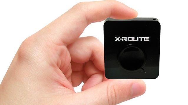 X-Route är storleksmässigt mindre än en tändsticksask