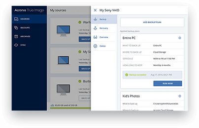 Acronis BaaS Backup-as-a-service