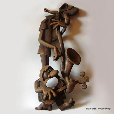 I always loved the jazz - Woodcarving