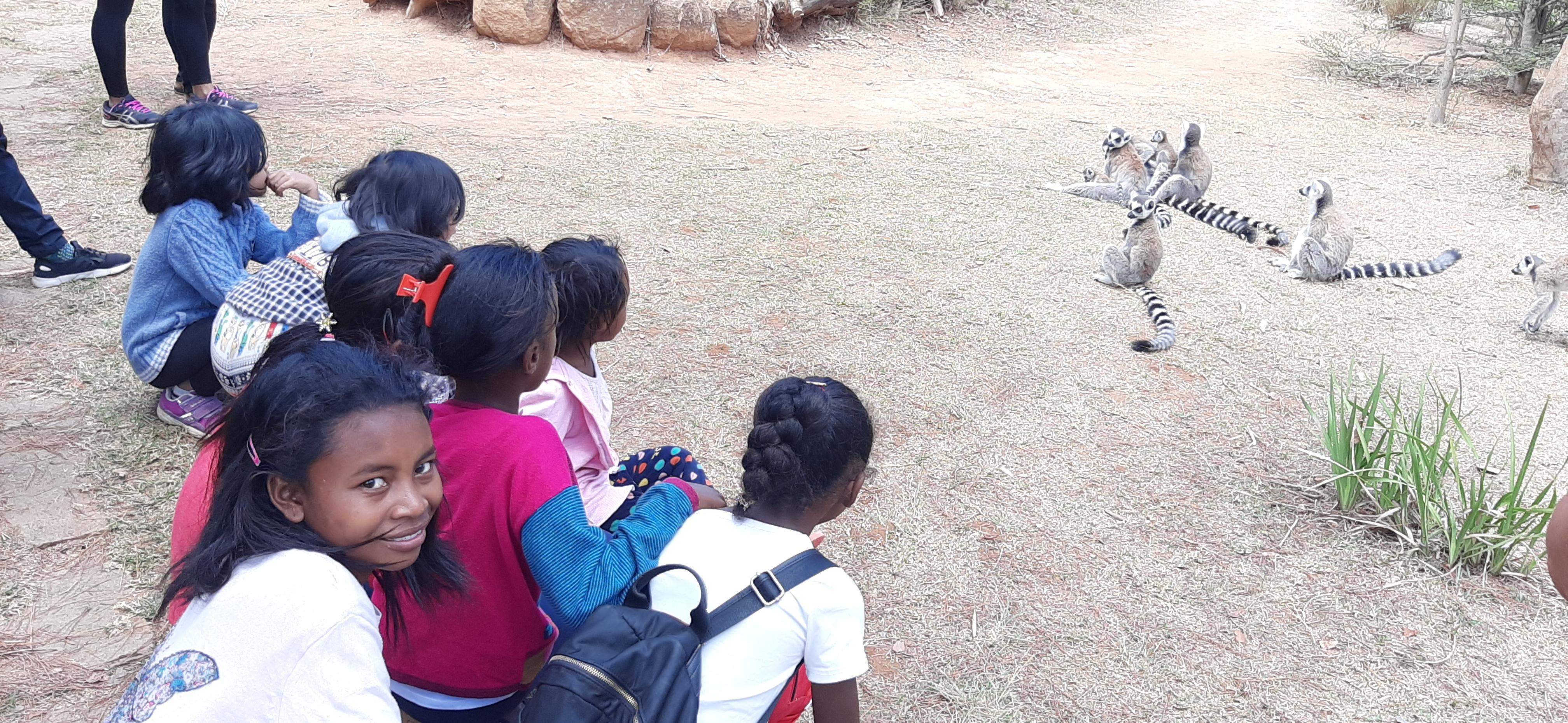 Sortie au Lemur's Park