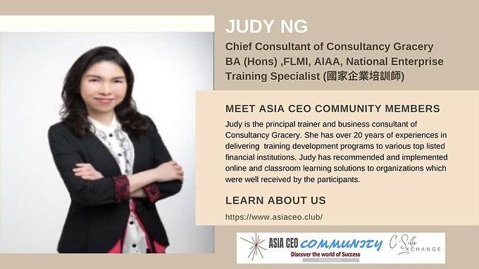 Chief Consultant,Training Specialist