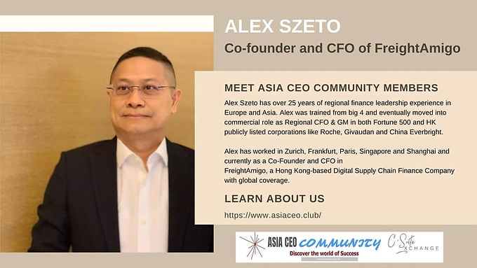 Co-founder and CFO