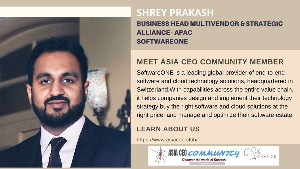 Business Head Multivendor & Strategic Alliance - APAC