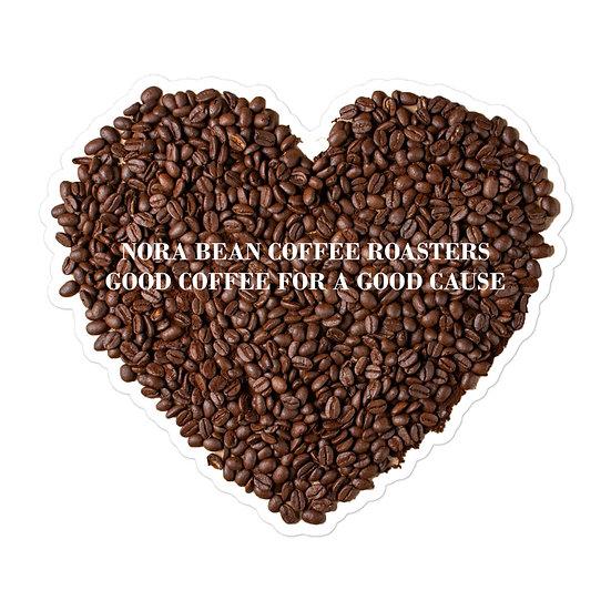 Nora Bean Coffee Roasters Sticker