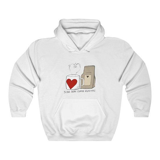 Nora Bean Mug and Bag Unisex Heavy Blend™ Hooded Sweatshirt
