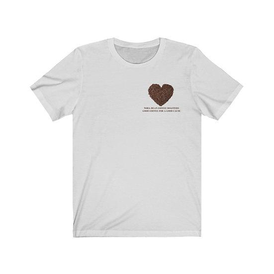 Nora Bean Heart Unisex Jersey Short Sleeve Tee