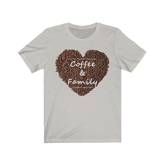 Coffee and Family Favorite Things Unisex Jersey Short Sleeve Tee