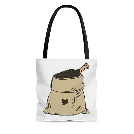 My Two Favorite Things Coffee Tote Bag