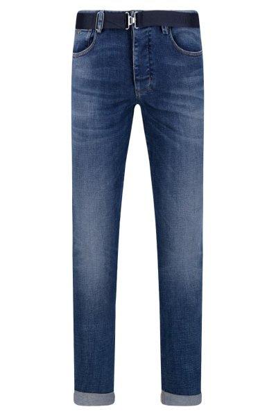 Emporio Armani - Jeans Uomo 5 Tasche Denim Blu
