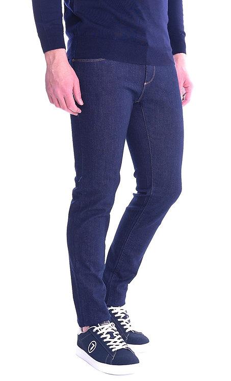 Trussardi Jeans- Jeans Uomo Trussardi Jeans Mod. 370Close Mid Rise Denim Blu 525