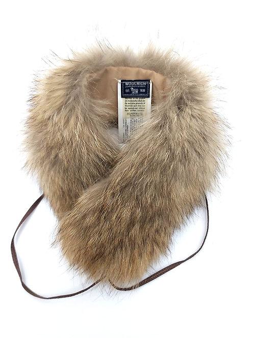 Woolrich- Scaldacollo di Pelliccia di Coyote