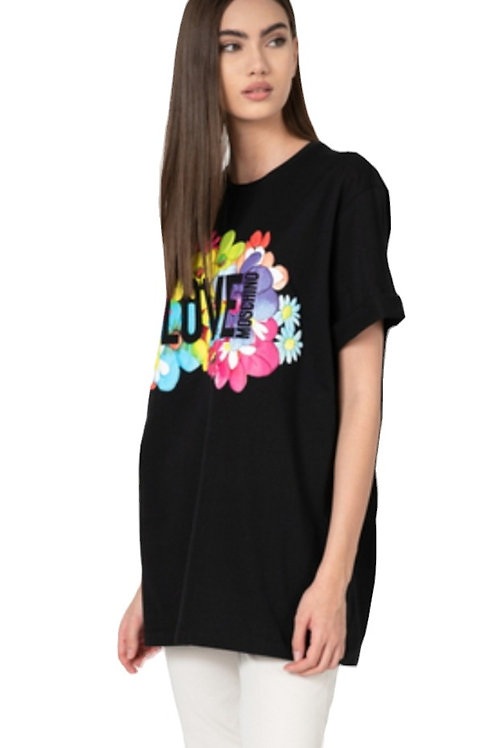 Love Moschino - T-Shirt Donna Oversize