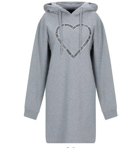 Love Moschino - Abito Donna Con Cuore Love Moschino