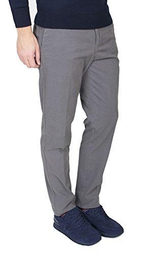 Trussardi Jeans - Pantaloni Uomo Modello Aviator Fit Grigio