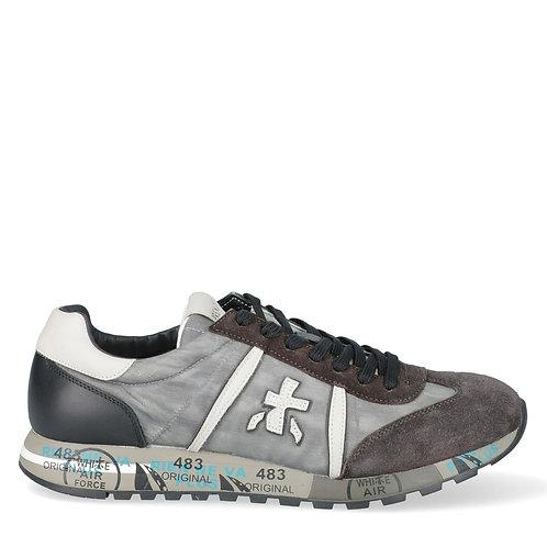 Premiata- Sneakers Scarpe Premiata Uomo Grigio, Moro, Nero Lucy 4929