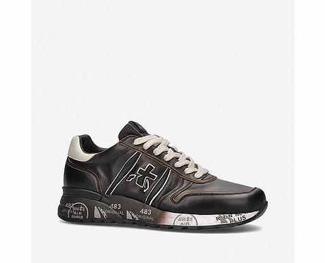 Premiata- Sneakers Scarpe Uomo Nero/Moro Lander 4946