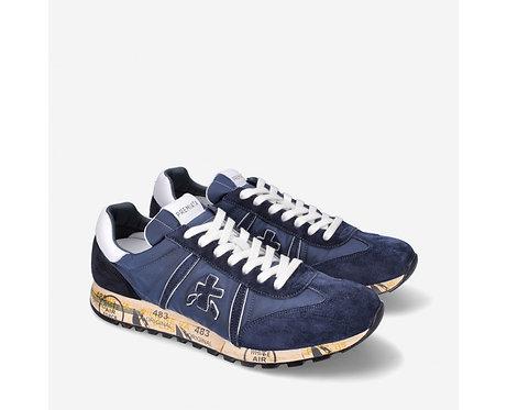 Premiata- Sneakers Scarpe Uomo Blu Lucy 5151