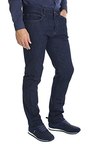 Trussardi jeans- Jeans Uomo Trussardi Jeans Mod.380 Icon Haight Waist Blu