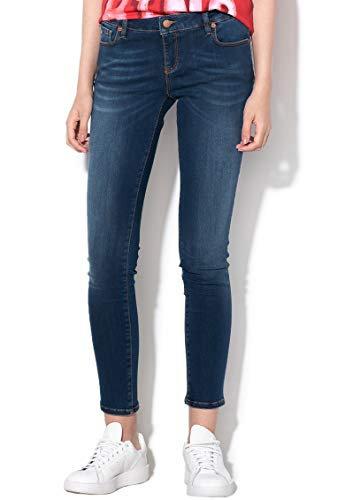 Love Moschino -Jeans Donna con Cuore Glitter