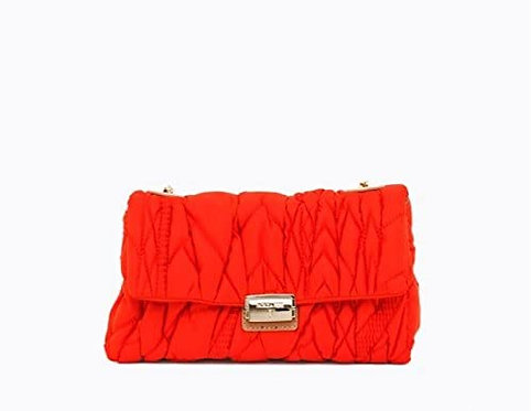 Patrizia Pepe - Borsa a Tracolla Bag Trapuntata Orange 2V7890/A2XP